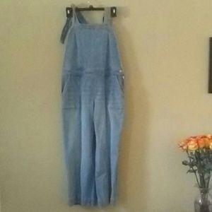New York & Co Soho denim jumpsuit